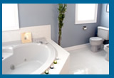 Fiberglass bathroom repairs and restorations